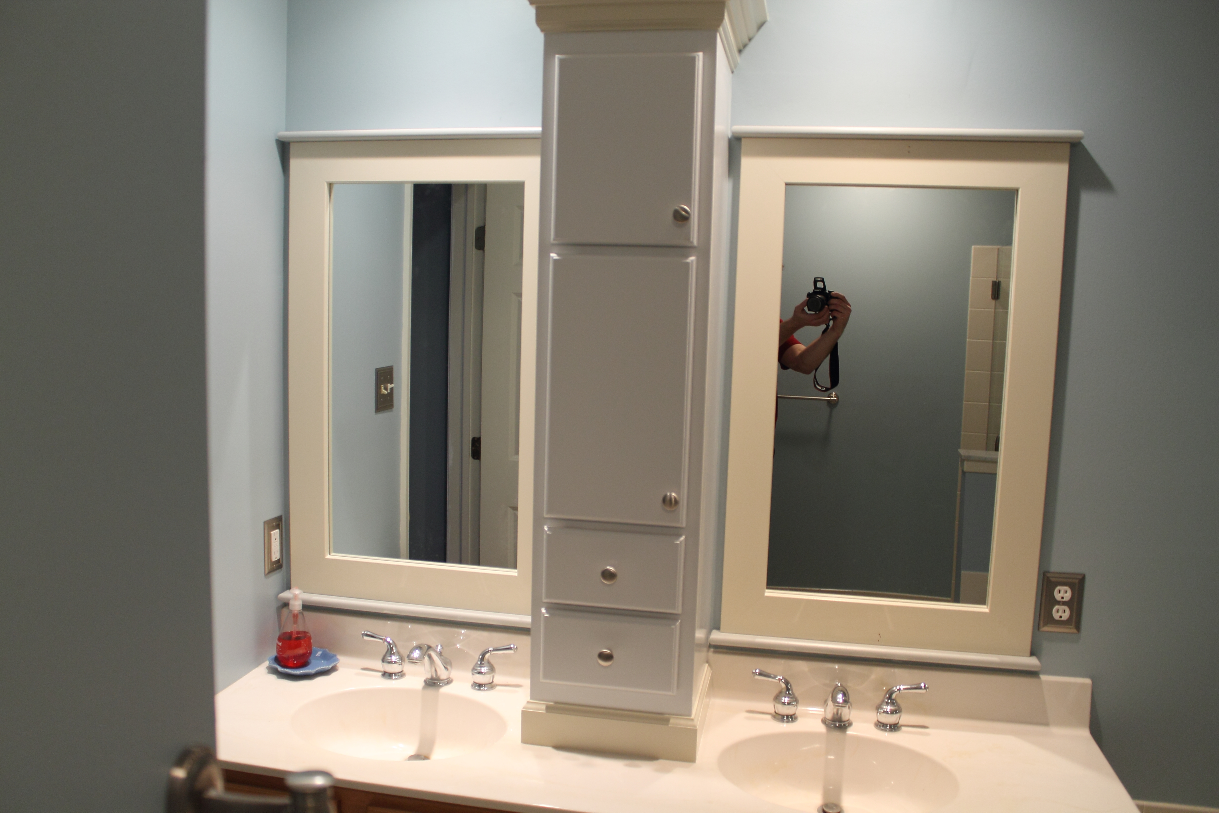 Master Bathroom Upgrade On A Budget M A S Construction